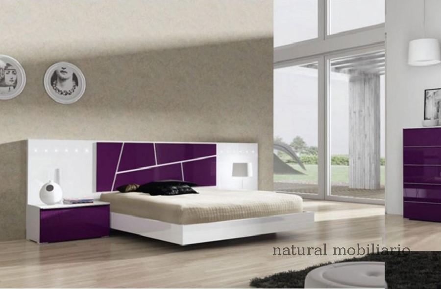 Muebles Modernos chapa natural/lacados dormitorio joro 1-19-722