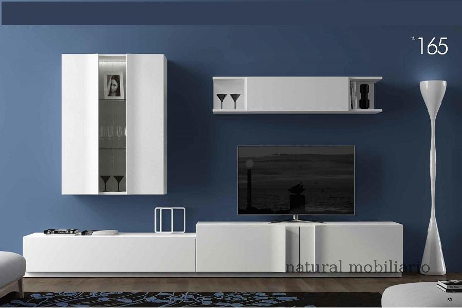 Muebles Modernos chapa natural/lacados salon moderno egl 4-532-364