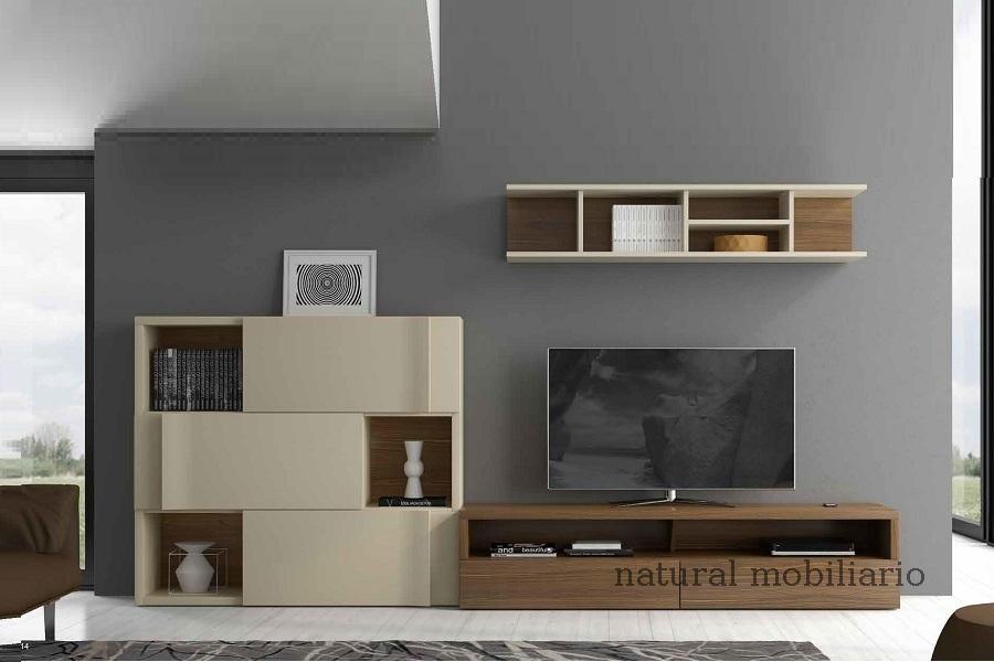 Muebles Modernos chapa natural/lacados salon moderno egl 4-532-352