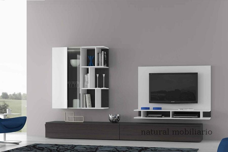 Muebles Modernos chapa natural/lacados salon moderno egl 4-532-358