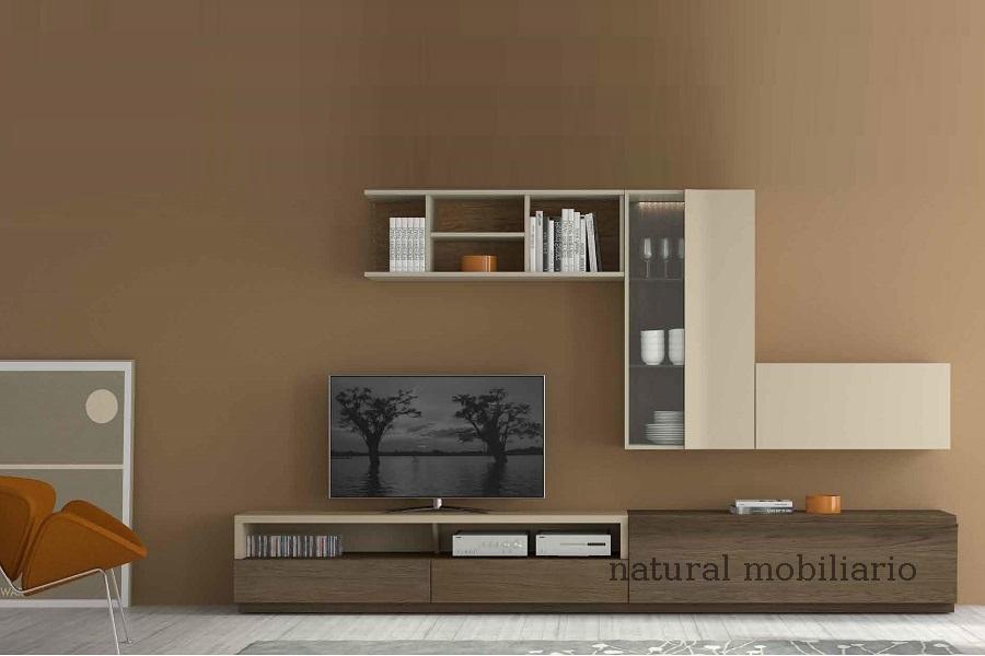 Muebles Modernos chapa natural/lacados salon moderno egl 4-532-365
