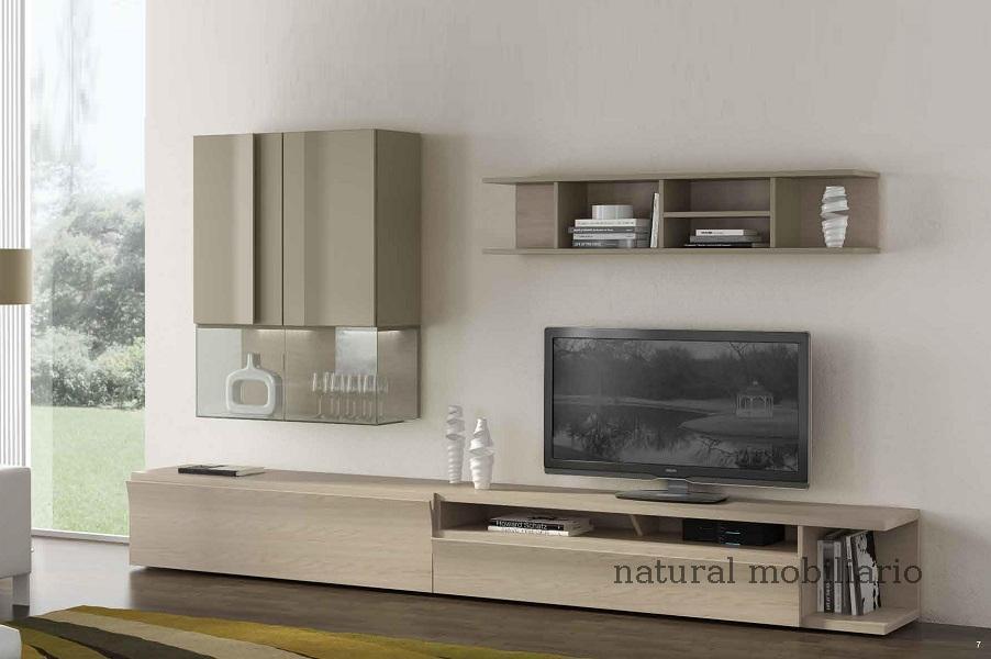 Muebles Modernos chapa natural/lacados salon moderno egl 4-532-350