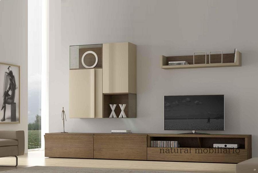 Muebles Modernos chapa natural/lacados salon moderno egl 4-532-356