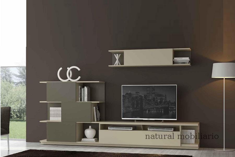 Muebles Modernos chapa natural/lacados salon moderno egl 4-532-357