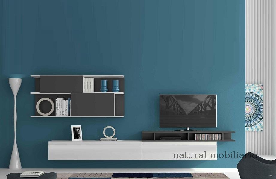 Muebles Modernos chapa natural/lacados salon moderno egl 4-532-353