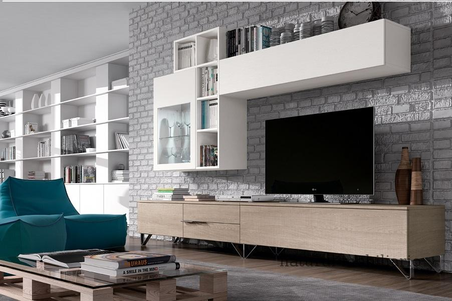 Muebles Modernos chapa sint�tica/lacados salon moderno1-96rosa605