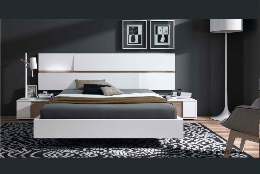 Muebles Modernos chapa sintética/lacados dormitorio moderno1-96rosa519