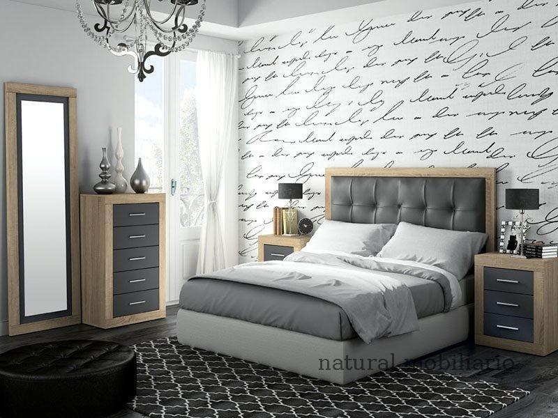 Muebles Modernos chapa sintética/lacados dormitorio moderno azor 1-21-804