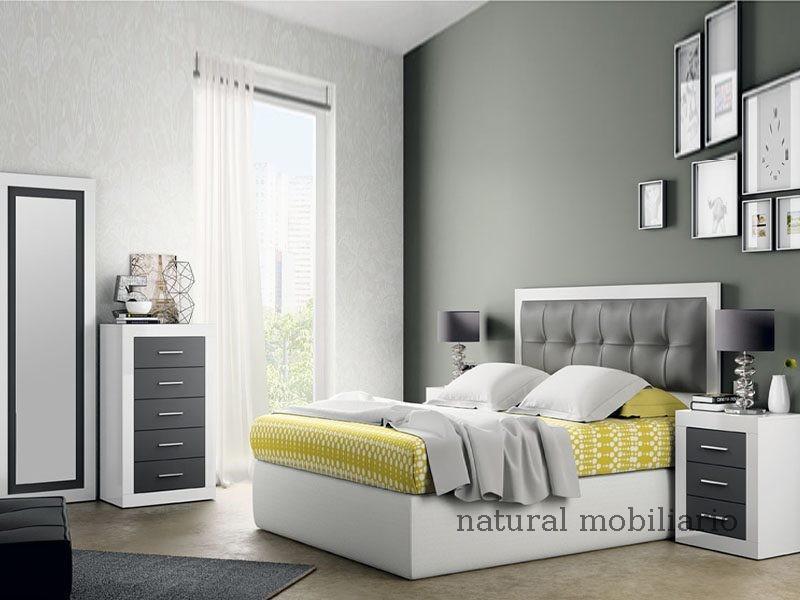 Muebles Modernos chapa sintética/lacados dormitorio moderno azor 1-21-810