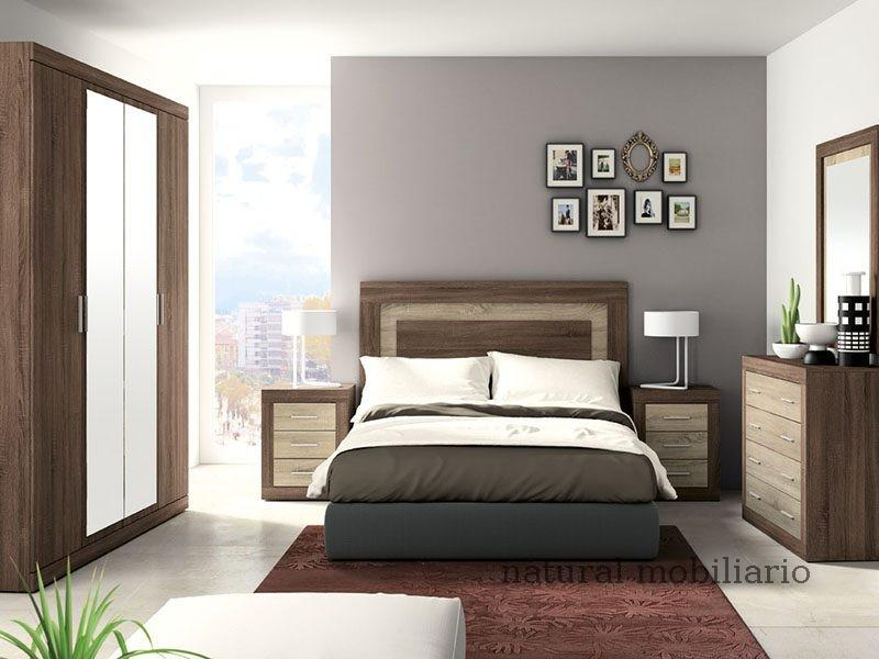 Muebles Modernos chapa sintética/lacados dormitorio moderno azor 1-21-824