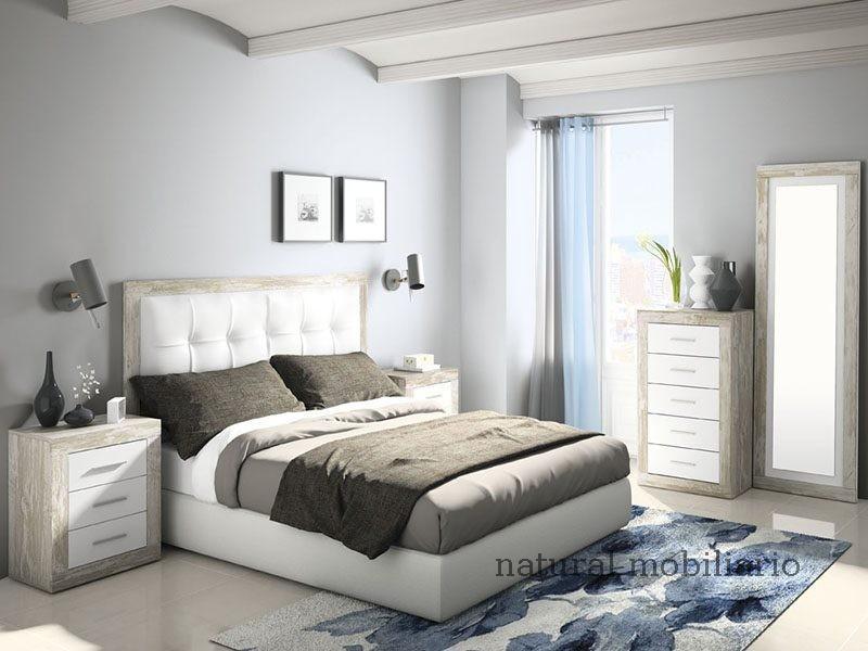 Muebles Modernos chapa sintética/lacados dormitorio moderno azor 1-21-805