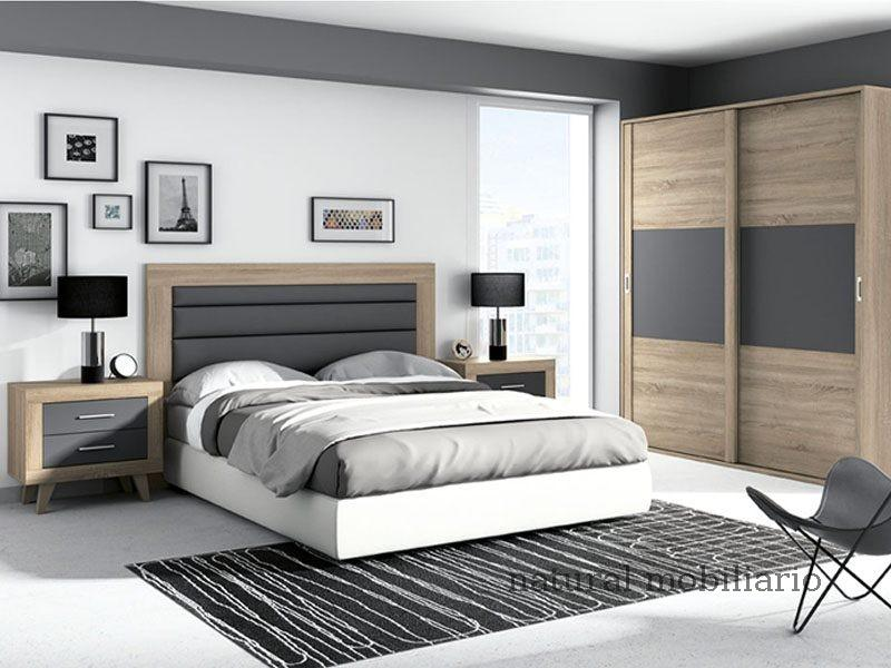 Muebles Modernos chapa sintética/lacados dormitorio moderno azor 1-21-818