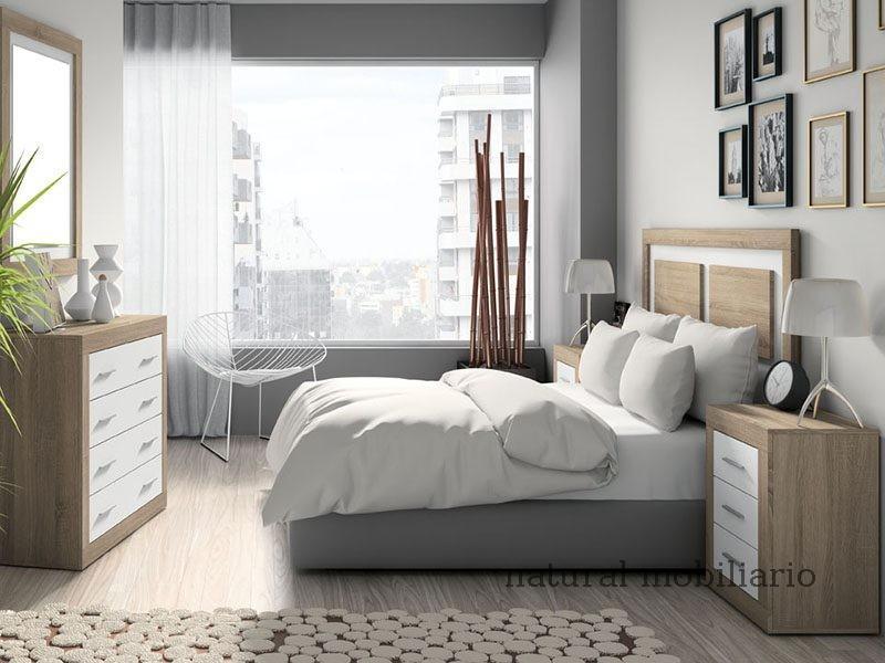 Muebles Modernos chapa sintética/lacados dormitorio moderno azor 1-21-806
