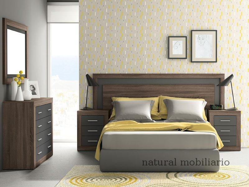 Muebles Modernos chapa sintética/lacados dormitorio moderno azor 1-21-803