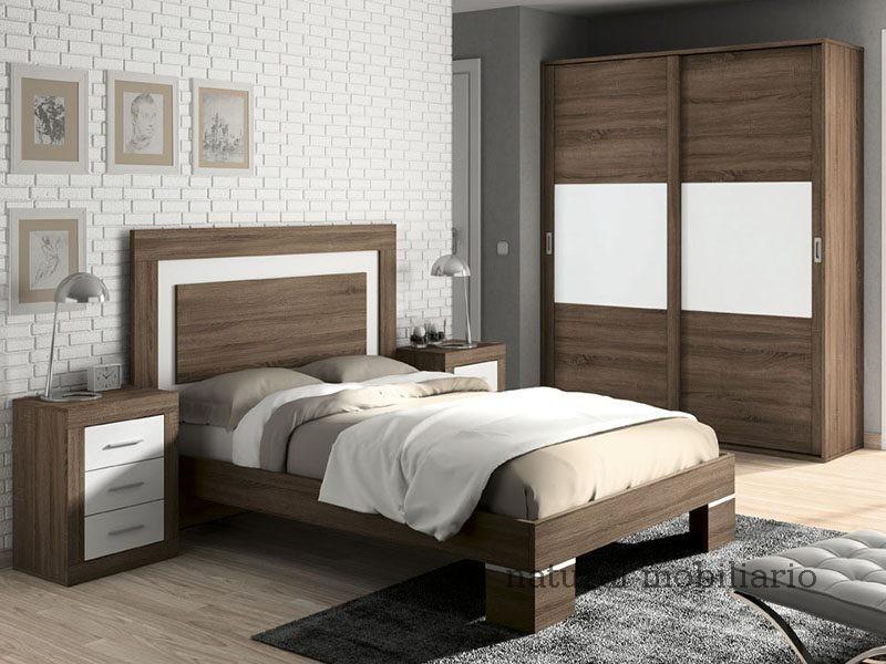 Muebles Modernos chapa sintética/lacados dormitorio moderno azor 1-21-825