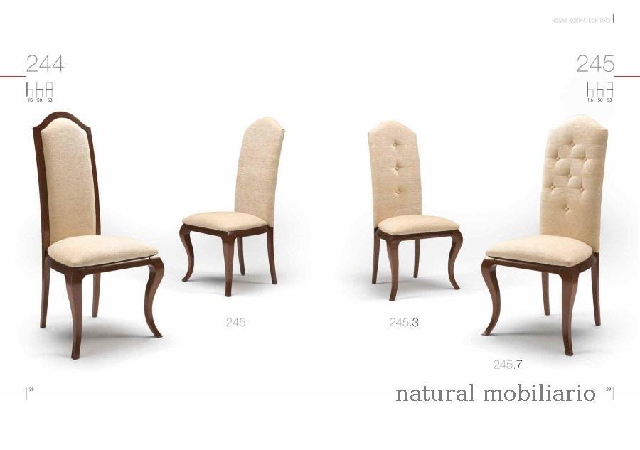 Muebles Sillas de comedor silla clar 1-1-260