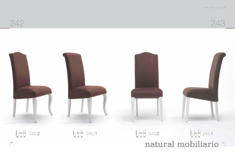 Muebles Sillas de comedor silla clar 1-1-259