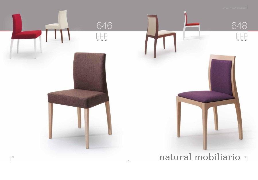 Muebles Sillas de comedor silla clar 1-1-254