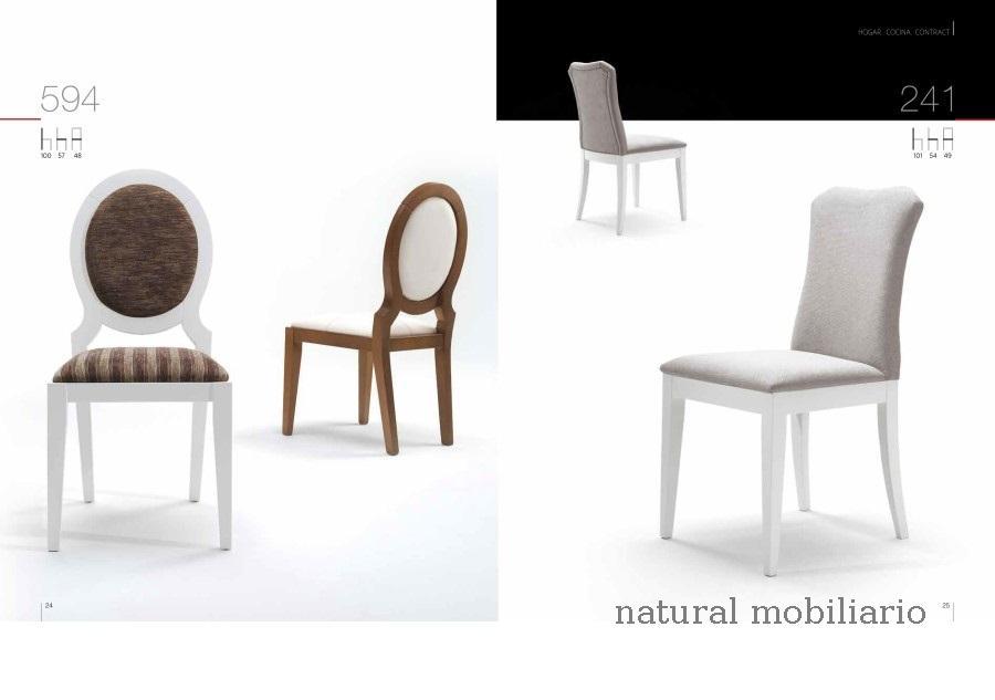 Muebles Sillas de comedor silla clar 1-1-258