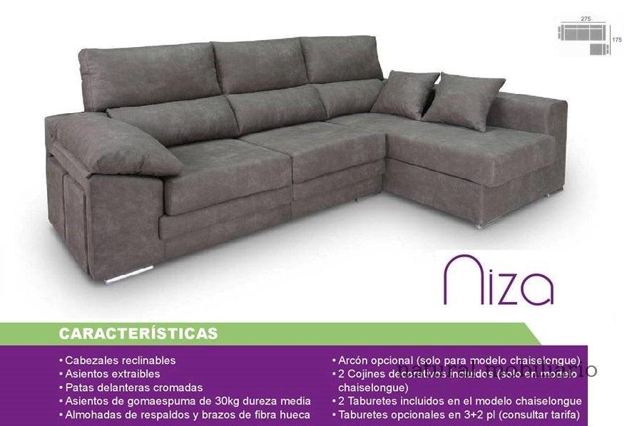 Muebles Sof�s y Chaiselonge sofa promocion 1-459