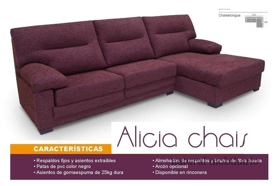 Muebles Sof�s y Chaiselonge sofa promocion 1-452