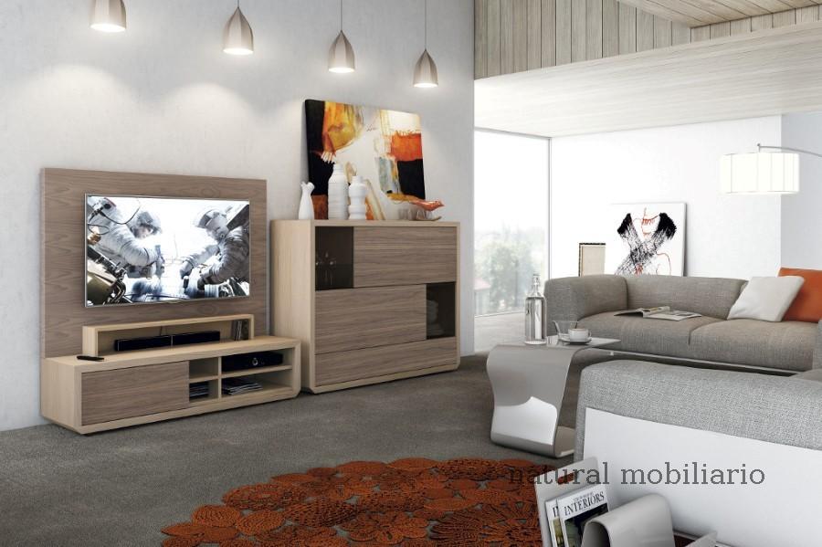 Muebles Modernos chapa natural/lacados salon apilable moderno 2-97gasa452
