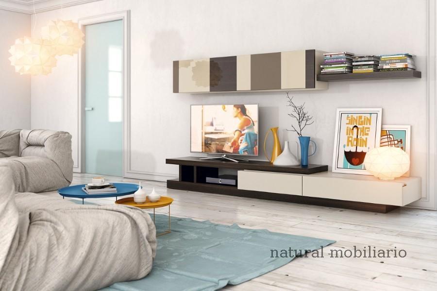 Muebles Modernos chapa natural/lacados salon apilable moderno 2-97gasa458
