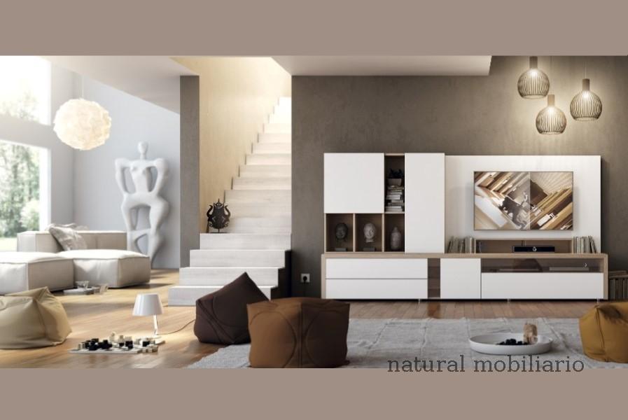 Muebles Modernos chapa natural/lacados salon apilable moderno 2-97gasa457