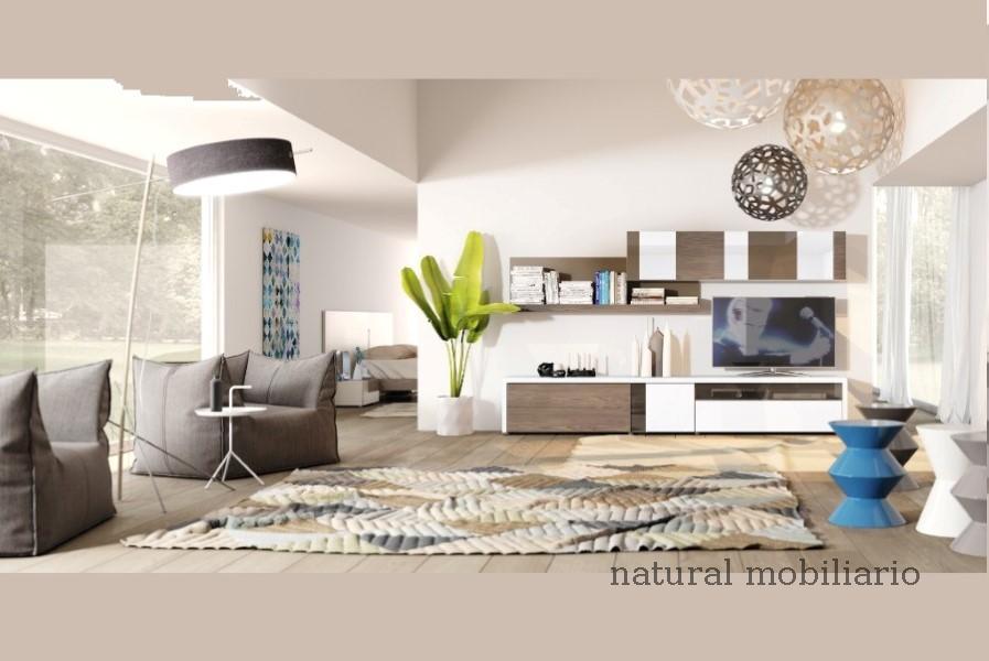 Muebles Modernos chapa natural/lacados salon apilable moderno 2-97gasa454