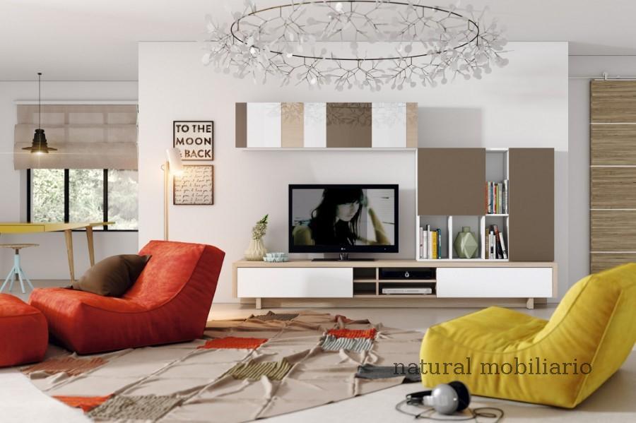 Muebles Modernos chapa natural/lacados salon apilable moderno 2-97gasa450