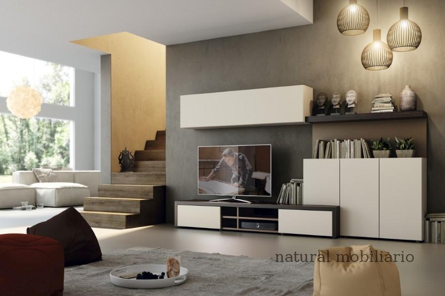 Muebles Modernos chapa natural/lacados salon apilable moderno 2-97gasa451