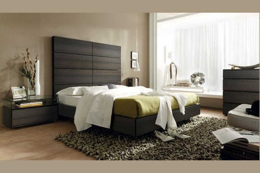 Muebles Modernos chapa natural/lacados dormitorio moderno gasa 2-97-660