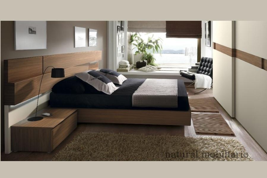 Muebles Modernos chapa natural/lacados dormitorio moderno gasa 2-97-668
