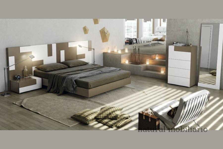 Muebles Modernos chapa natural/lacados dormitorio moderno gasa 2-97-652