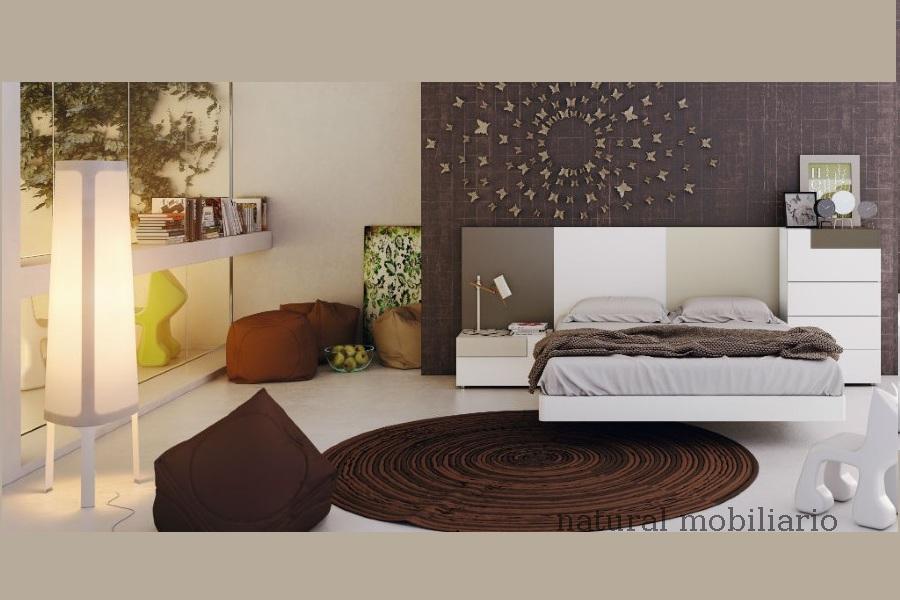 Muebles Modernos chapa natural/lacados dormitorio moderno gasa 2-97-669