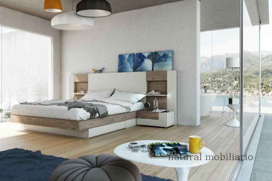 Muebles Modernos chapa natural/lacados dormitorio moderno gasa 2-97-654