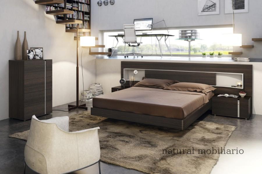 Muebles Modernos chapa natural/lacados dormitorio moderno gasa 2-97-664