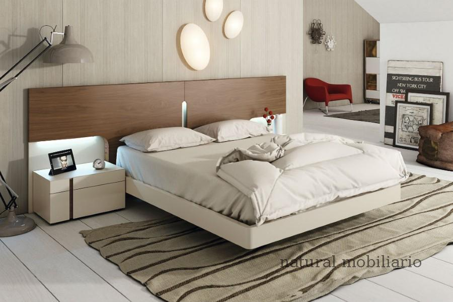 Muebles Modernos chapa natural/lacados dormitorio moderno gasa 2-97-651