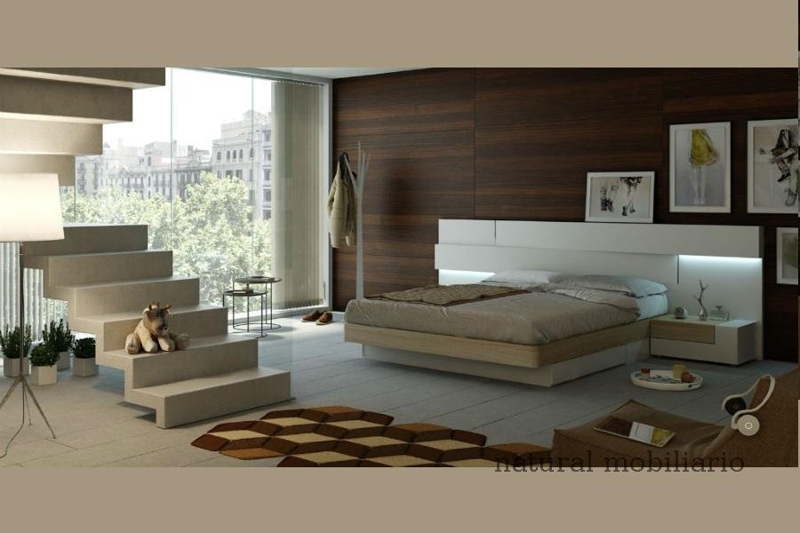 Muebles Modernos chapa natural/lacados dormitorio moderno gasa 2-97-667
