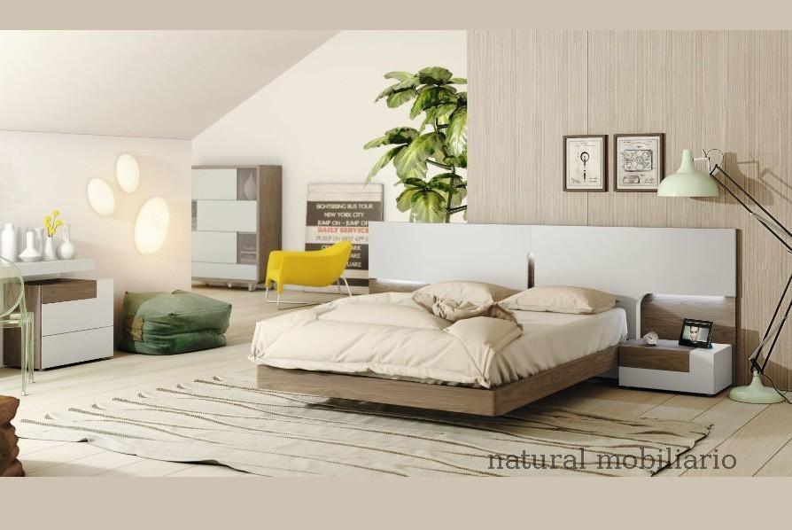Muebles Modernos chapa natural/lacados dormitorio moderno gasa 2-97-650