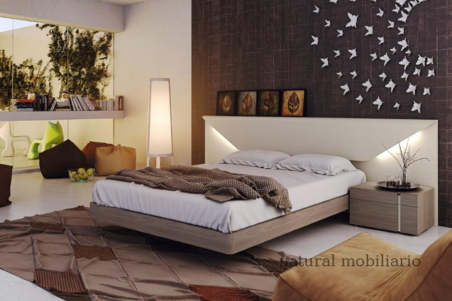 Muebles Modernos chapa natural/lacados dormitorio moderno gasa 2-97-662