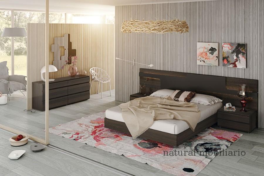 Muebles Modernos chapa natural/lacados dormitorio moderno gasa 2-97-658
