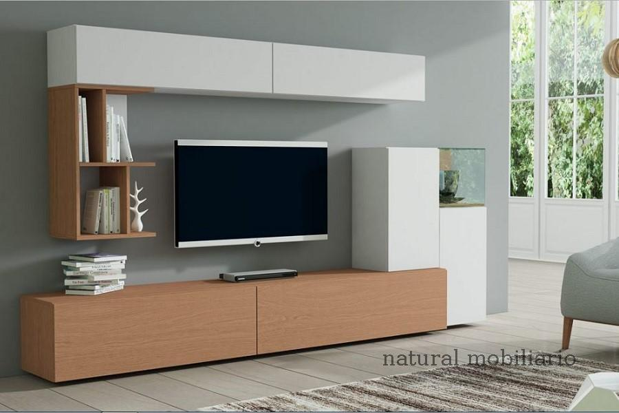 Muebles Modernos chapa natural/lacados salon egla 4-532-258