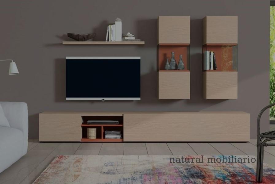 Muebles Modernos chapa natural/lacados salon egla 4-532-254