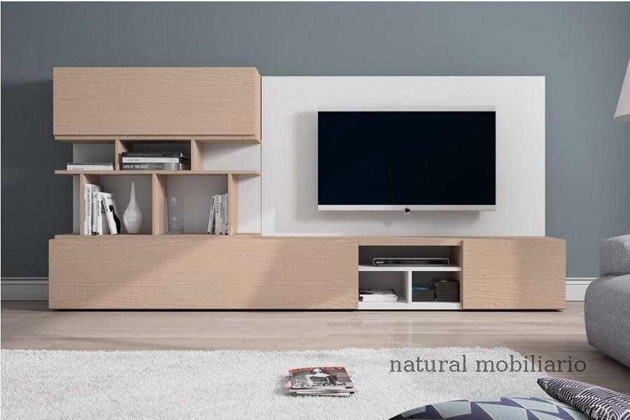 Muebles Modernos chapa natural/lacados salon egla 4-532-260
