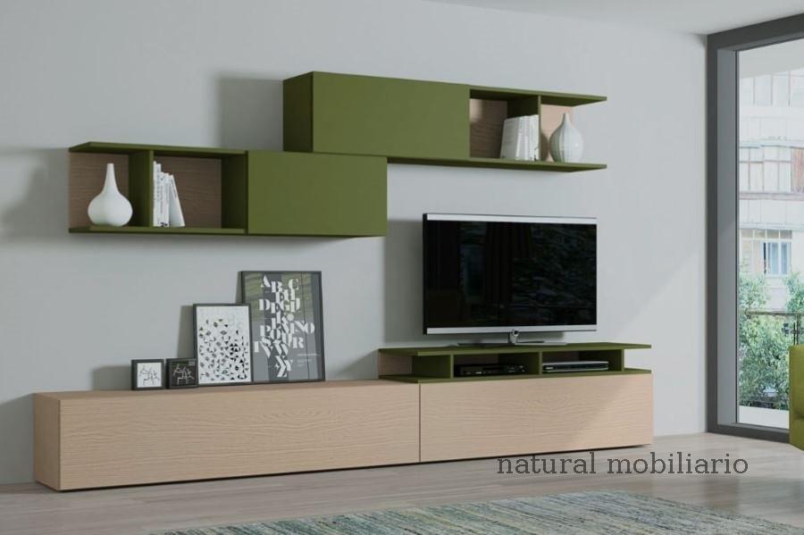 Muebles Modernos chapa natural/lacados salon egla 4-532-252