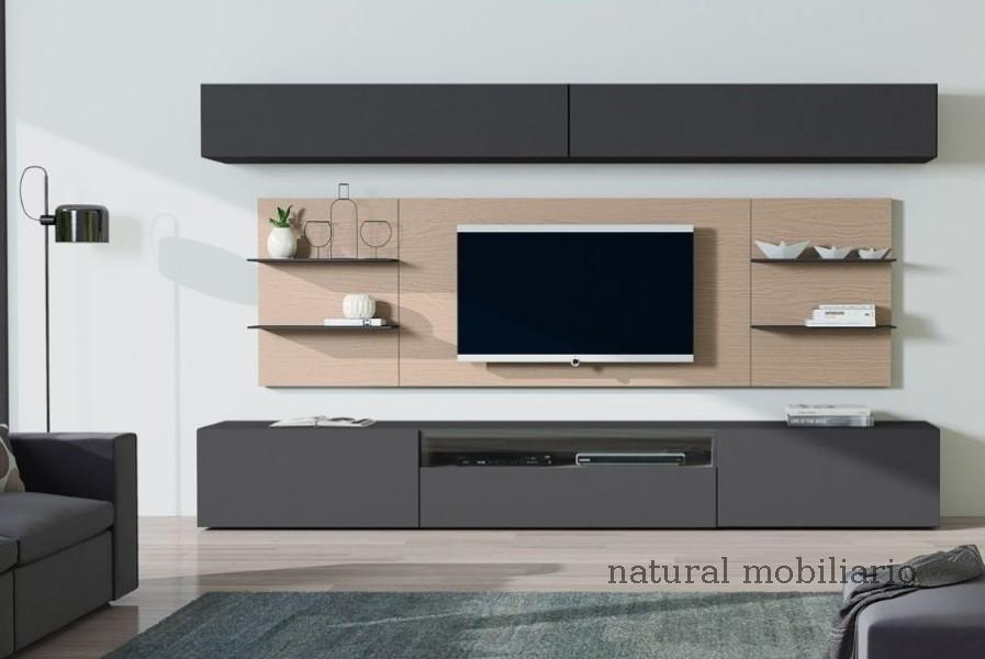 Muebles Modernos chapa natural/lacados salon egla 4-532-255