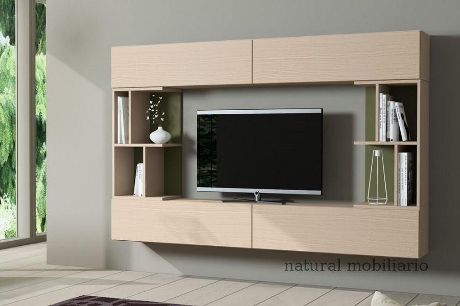 Muebles Modernos chapa natural/lacados salon egla 4-532-257