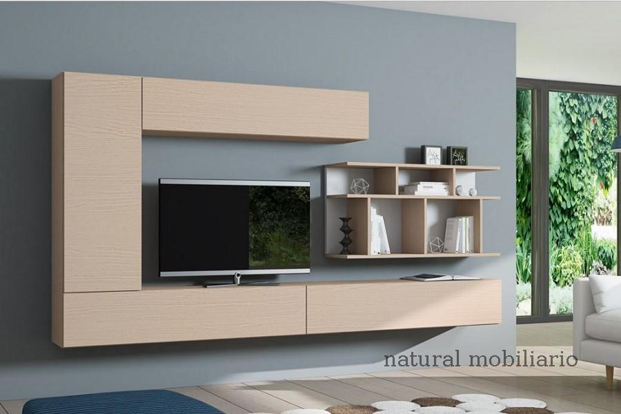 Muebles Modernos chapa natural/lacados salon egla 4-532-259