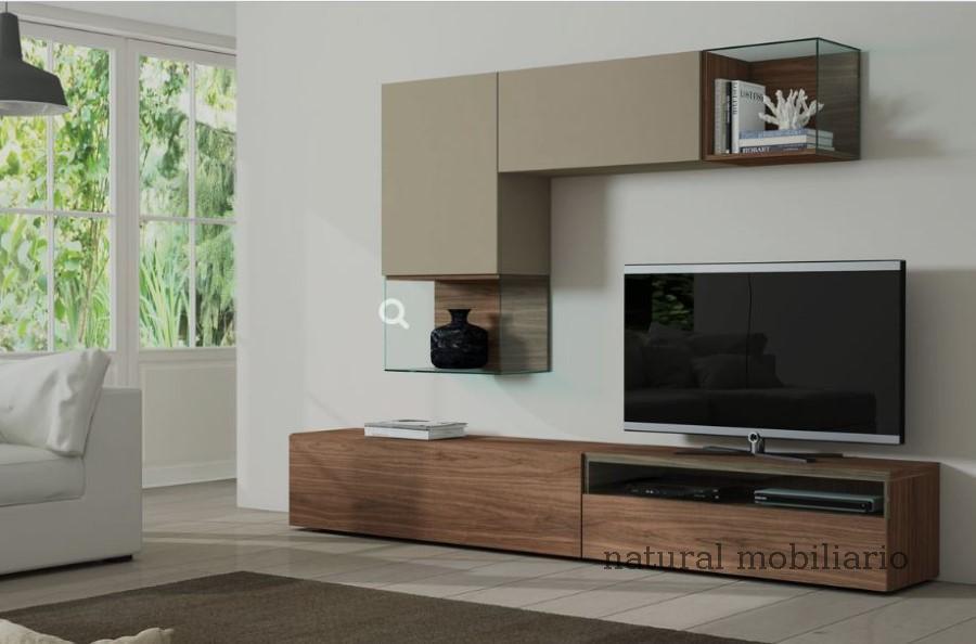 Muebles Modernos chapa natural/lacados salon egla 4-532-253
